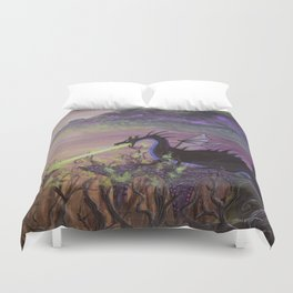 Maleficent's Wrath Duvet Cover