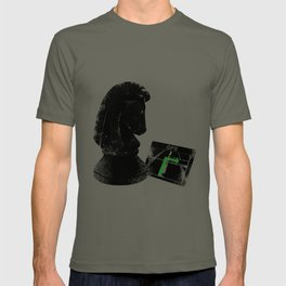 """Chess Horse - Knight Moves """" L """" T-shirt"""