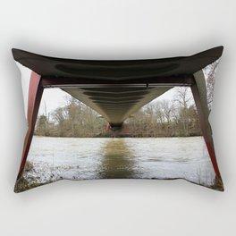Dry walking Rectangular Pillow