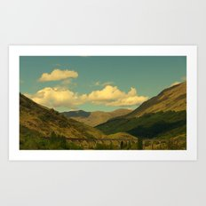 The Glenfinnan Viaduct Art Print