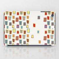 mid century iPad Cases featuring Dream of mid century by Ryoko Rainbow