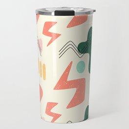 Hand Drawn Abstract pattern 4 Travel Mug