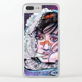 Menta y Miel Clear iPhone Case