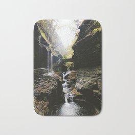 Watkins Glen Waterfall Bath Mat