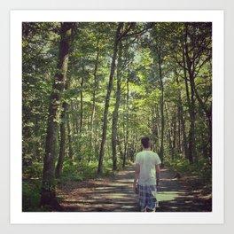 Forêt Art Print
