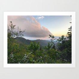 Blue Ridge Parkway 2 Art Print