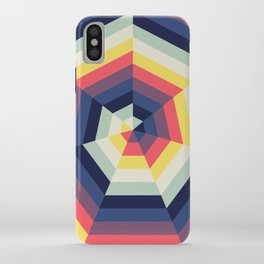 Heptagon Quilt 2 iPhone Case