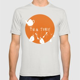 Orange Tea Time T-shirt