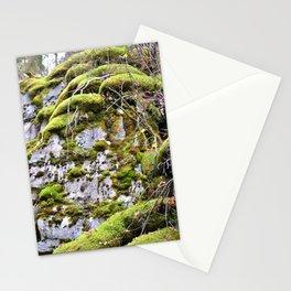 Mossy Rocks Stationery Cards