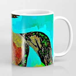 Horse Stained Glass Coffee Mug