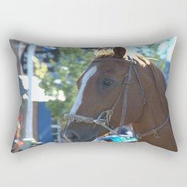 Horse of course Rectangular Pillow