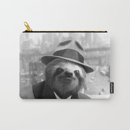 Sloth in New York Carry-All Pouch