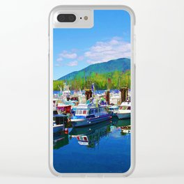 Harbour Life - Prince Rupert, BC Clear iPhone Case