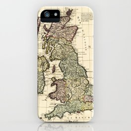 where are the Kingdom of England taken from Sped celuy from Scotland drawn from Th. Pont and that fr iPhone Case