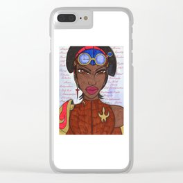 The Reasons of a Steampunk Liberator Clear iPhone Case