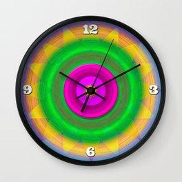 Sunshine and rainbows Wall Clock