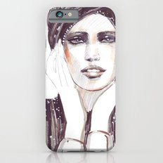 Fashion sketch in markers and pencil Slim Case iPhone 6s