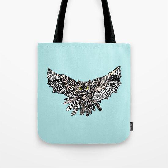 Dragon Owl (Color) Tote Bag