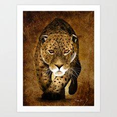 The Leopard Art Print