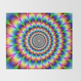 Trippy Stoner Throw Blanket