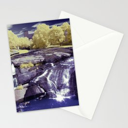 Falls Park on the Reedy in Greenville, South Carolina, A beautiful park space. Stationery Cards