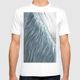 Horse mane photography, fine art print n°1, wild nature, still life, landscape, freedom T-shirt