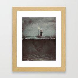 Flud Framed Art Print