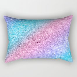 Rainbow Princess Glitter #2 #shiny #decor #art #society6 Rectangular Pillow