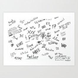 XXX Tentacion Art Print