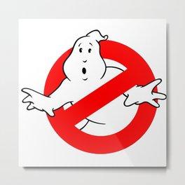 Ghostbuster Logo Metal Print