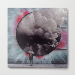 Clouded Judgment Metal Print