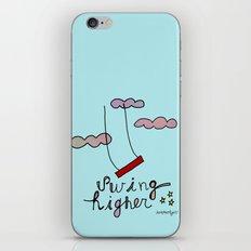 Swing HIGHER  iPhone & iPod Skin