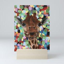 Giraffes Just Wanna Have Fun Mini Art Print