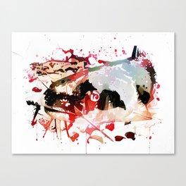 Murder Catfish Canvas Print