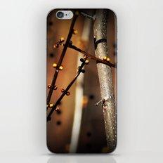 fire sunset tree buds iPhone & iPod Skin