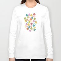roses Long Sleeve T-shirts featuring ROSES by Bianca Green