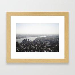 East River Framed Art Print