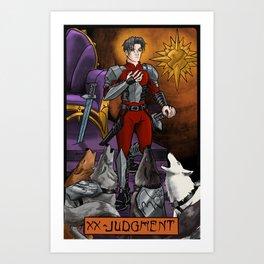 XX - Justice Art Print