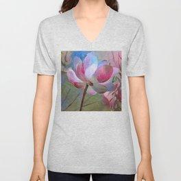 Lotus Visions Unisex V-Neck