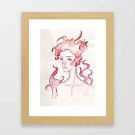 Corched Inktober 2018 Framed Art Print