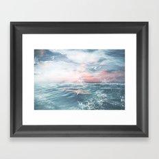 Summers End Framed Art Print