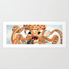 Tako the Octo Art Print