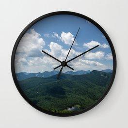 Porter Mountain Peak Wall Clock