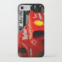 f1 iPhone & iPod Cases featuring Ferrari F1 by cjsphotos