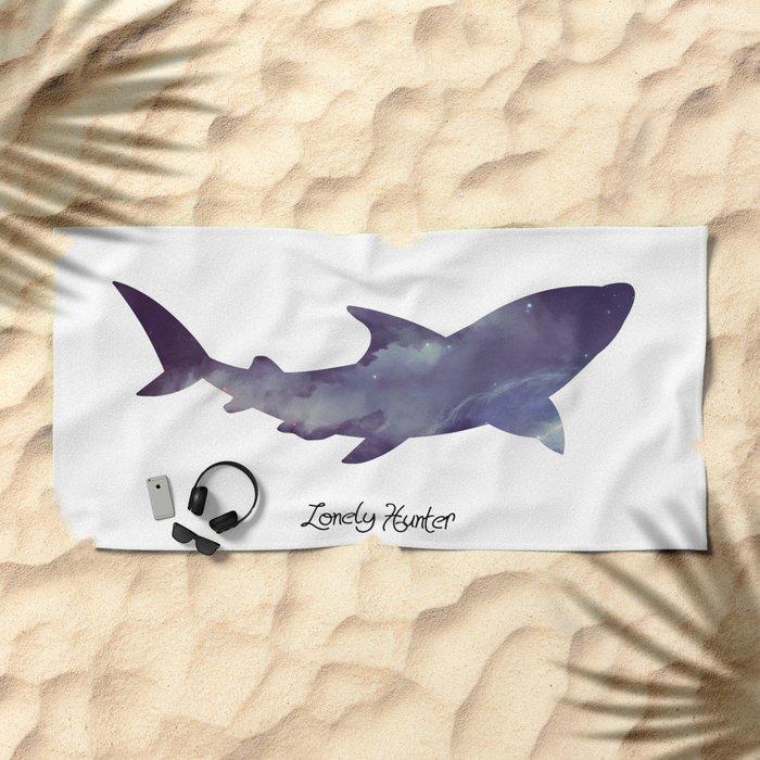 Lonely Hunter Beach Towel