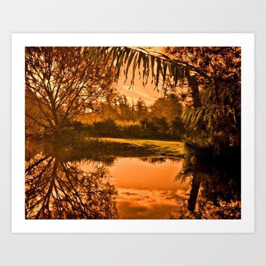 'Orinoco Flow' Art Print