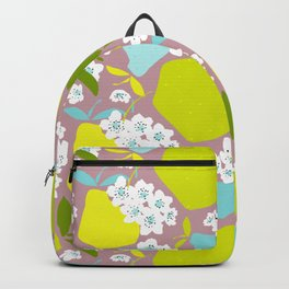 Pears + Pear Blossoms Backpack