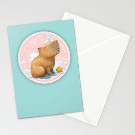 Hapybara Stationery Cards