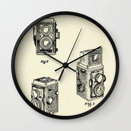 Photographic Camera-1950 Wall Clock