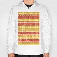 fabric Hoodies featuring Decorative fabric by Zenya Zenyaris